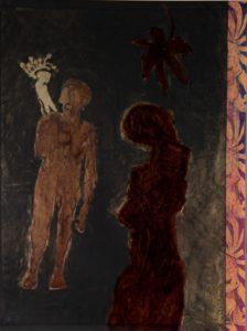 Ohne Titel, Plakat -Entwurf, 1998